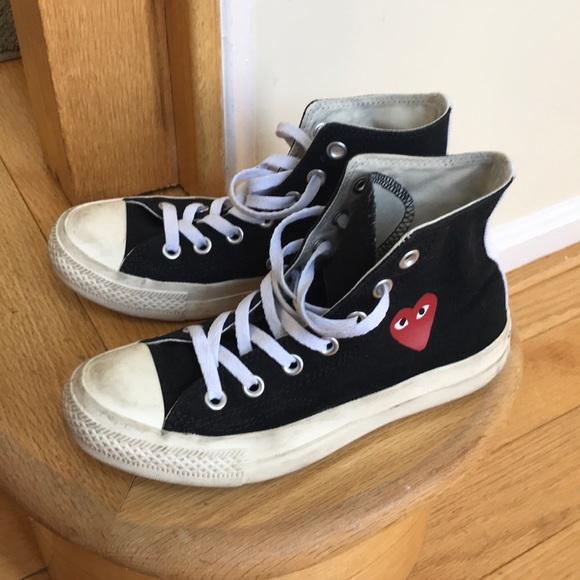a2659f85cb3e Comme des Garcons Shoes - CDG converse sneakers   shoe